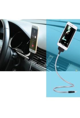 ModaCar Holiday Iphone 5-6-7 İçin Spralli Şarj Çıkışlı Telefon Tutucu 106342