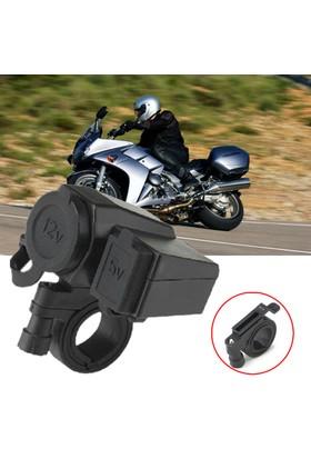 ModaCar Motorsiklet İçin Su Geçirmez USB ve Çakmak Girişi 106351