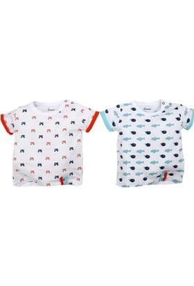 Premom 1608 Nice Friends 2'li Bebek T-shirt