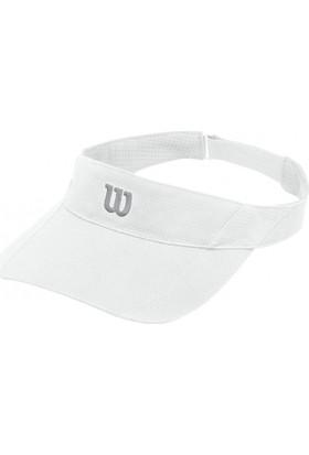 Wilson Rush Knit Visor Ultralight Kadın Şapka - Beyaz ( WR5005100 )