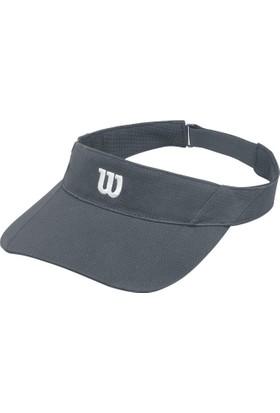 Wilson Rush Knit Visor Ultralight Kadın Şapka - Füme ( WR5005003 )