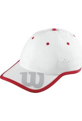 Wilson Baseball Hat Şapka - Beyaz/Kırmızı (WRA733702)