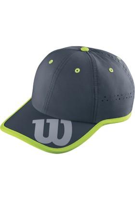 Wilson Baseball Hat Şapka - Füme/Yeşil (WRA733703)