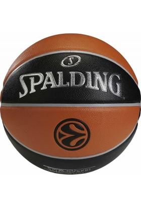 Spalding Tf500 Euroleague Deri 5 No Basketbol Topu