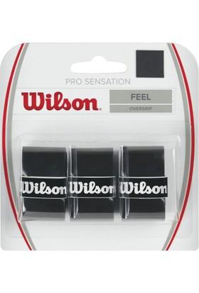 Wilson Pro Overgrip Sensation 3lü Siyah ( WRZ4010BK )