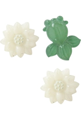 Coccomell Dekor Sticker Beyaz Çiçek