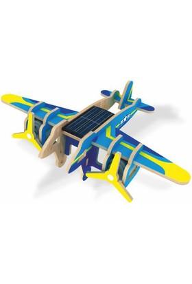 Robotime Güneş Enerjili Bombardıman Uçağı