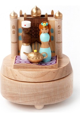 Wooderfullife Aladdin ve Sihirli Lambası