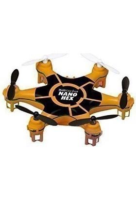 Revell 23948 Rc Nano Hex Turuncu-Siyah Led Helikopter Maketi