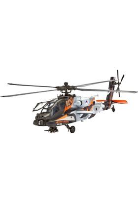 Revell 64896 Apache Ah-64D 1:48 Ölçek Helikopter Model Seti