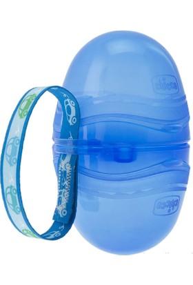 Chicco Çift Emzik Taşıyıcı Mavi