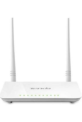 Tenda D301v2 4Port WiFi-N 300Mbps ADSL2+ Modem+USB