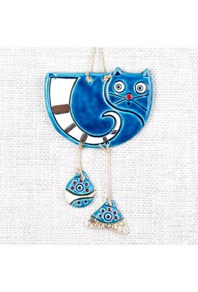KonstarKN185 Seramik Duvar Süsü Mavi