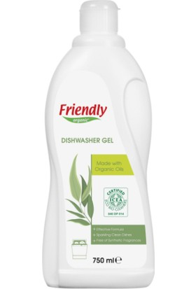 Friendly Organic Bulaşık Makinesi Jel Deterjanı 750 ml