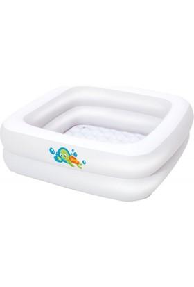 Bestway Şişme Tabanlı Bebek Havuzu (86 Cm X 86 Cm X 25) Bestway 51116