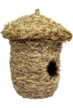Eastland Kuş Yuvası, Örme Doğal Kuş Evi 20*15*11 cm