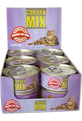 Gardenmix Somon Fümeli Kırmızı Ton Balıklı 85 gr ( 12 Adet )