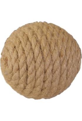 Lepus Halat Örgü Kedi Oyun Topu 8 cm