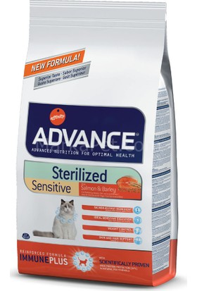 Advance Somonlu Kısırlaştırılmış Kedi Maması 3 Kg