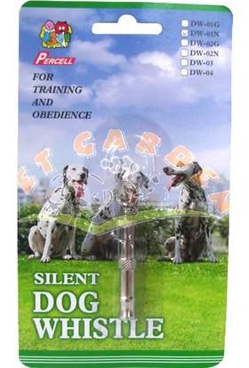 Percell Köpek Sessiz Eğitim Düdüğü Metal