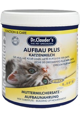 Dr. Clauder's Aufbau Plus Yavru Kedi Süt Tozu 200 Gr