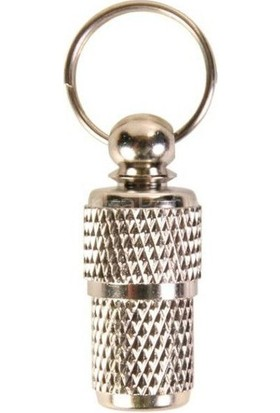 Trixie Kedi Köpek Kimlik Tüpü Krom Kaplama Gümüşi 3 cm*1 cm L