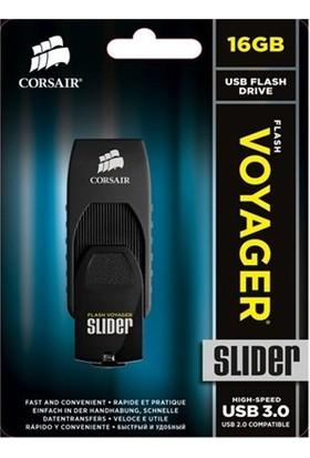 Corsair Flash Voyager Slider 16GB USB 3.0 Usb Bellek (CMFSL3B-16GB)