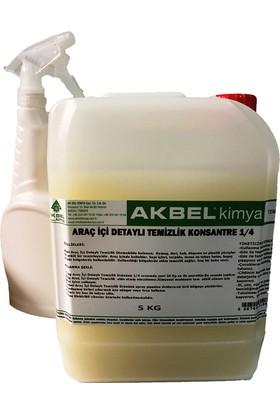 Akbel Kimya Araç İçi Detaylı Temizlik Konsantre 1/4 5 Kg