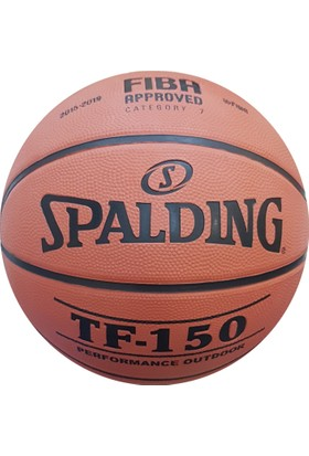 - Spalding TF-150 Basketbol Topu Perform N:7 Fiba Logo (83-572Z)