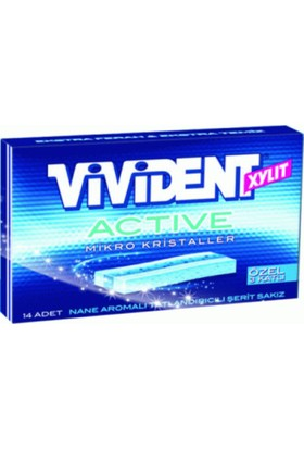Vivident Cüzdan Active Nane 18 Adet
