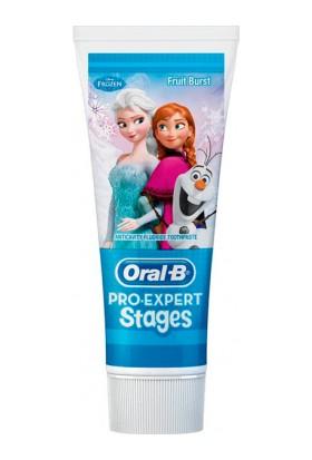 Oral-B Pro-Expert Stages Çocuk Diş Macunu Frozen 75 ml