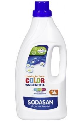 Sodasan Organik Çamaşır Makinası Deterjan Sıvı Color 1,5 Lt