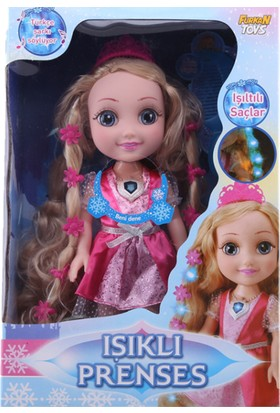 Furkan Toys Elsa Işıklı Prenses Bebek