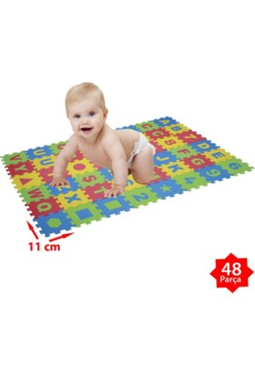 Toyjo Eva Eğitim Serisi Puzzle Mat 48 Parça (110 x 66 cm)