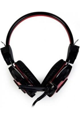 Redrock HP690 Mikrofonlu Kulaklık Siyah-Kırmızı