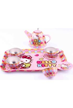 Hello Kitty Hello Kitty Metal Çay Seti