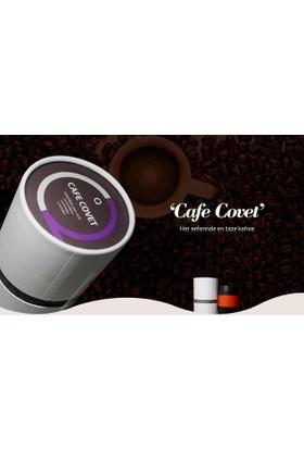 Cafe Covet Pratik Çekirdek Kahve Öğütücülü Termos