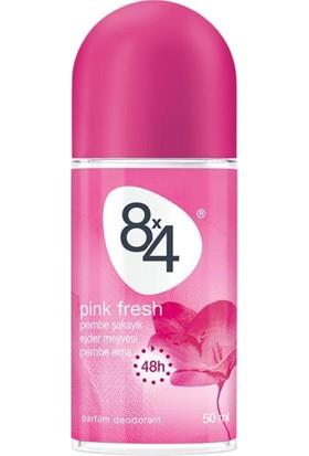 8X4 Pınk Fresh Roll-On 50Ml Kadın
