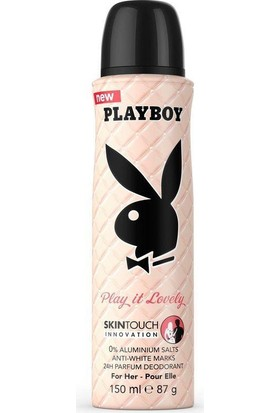 Playboy Play It Lovely Bayan Deodorant 150 Ml