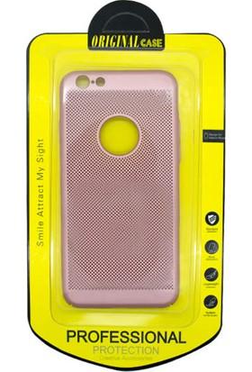 CresCent Apple iPhone 7 Deri Kırmızı Kılıf Kutulu Şık Tasarım Strong Protection
