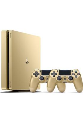 Sony Ps4 500 GB Slim Gold (Altın) + DualShock 4 V2 Gold Kol