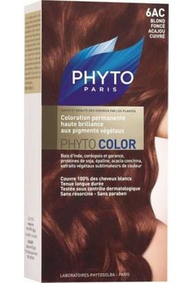 Phyto Color 6Ac (Akaju Bakır Koyu Sarı)