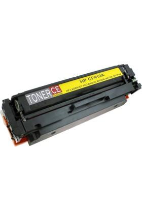 Tonerce Hp Cf412A Sarı (2,300K)