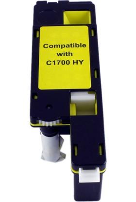 Tonerce Epson C1700Y Sarı