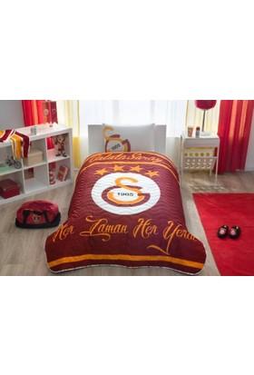 Taç Lisanslı Gs Logo Yatak Örtüsü Seti