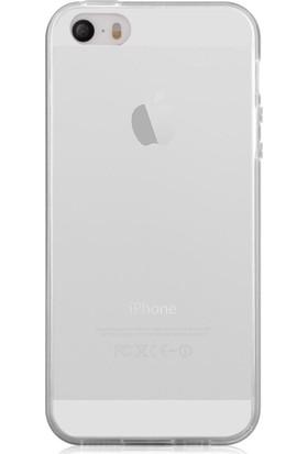 Case 4U Apple iPhone Se 0,3 Mm Ultra İnce Silikon Kılıf Şeffaf