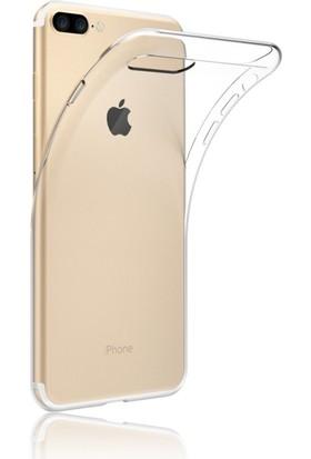 Case 4u Apple iPhone 7 Plus Silikon Kılıf + Cam Ekran Koruyucu