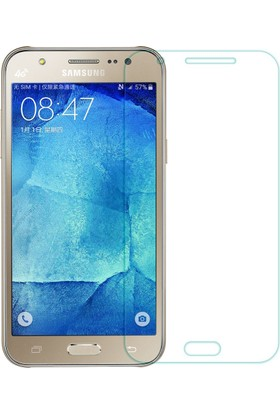 Case 4u Samsung Galaxy J2 Silikon Kılıf Şeffaf + Cam Ekran Koruyucu