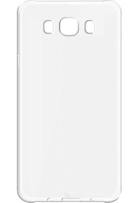 Case 4u Samsung Galaxy J710 J7 2016 Silikon Kılıf Şeffaf + Cam Ekran Koruyucu