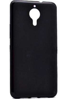 Case 4U General Mobile Gm5 Kılıf Slim Fit Silikon Siyah + Cam Ekran Koruyucu